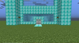 Diamond house Minecraft Map & Project