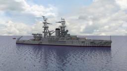 Nevada-class Battleship Minecraft