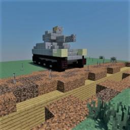 M2 light tank Minecraft Map & Project