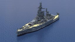 USS Pennsylvania (BB-38) Minecraft