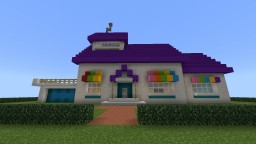 Oggy house Minecraft Map & Project