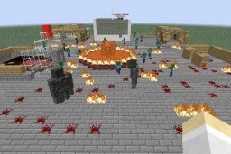 Quarkade: Zombie Apocalypse Minecraft Map & Project