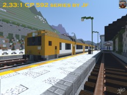 CP 592 Series DMU Minecraft Map & Project