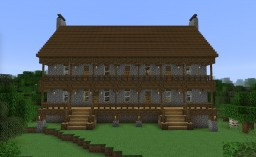 Early American Tavern & Inn Minecraft Map & Project
