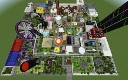 For Pat and Jen - Adventure Realm Theme Park Minecraft Map & Project