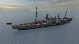 Fictional Imperial Armoured Cruiser - Pappenheim Minecraft Map & Project