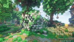 MysticRunes Gallery - Spring Meadow - road Minecraft Map & Project