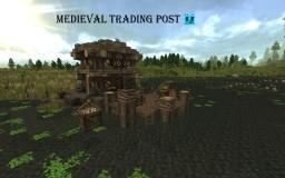 Medieval trading post Minecraft