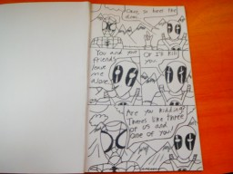 Home-made spiderman COMIC (ultimate spider man ) B.C. (before coloring) Minecraft Blog Post