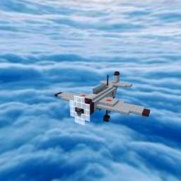 Mitsubishi A6M Zero Minecraft Map & Project