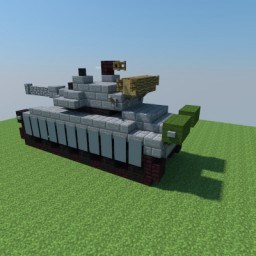T80 mbt Minecraft Map & Project