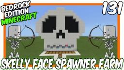 AFK Skull Face Skeleton Farm Bedrock Edition Minecraft Map & Project