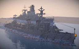 "Fubuki-class destroyer ""Fubuki"" Minecraft"