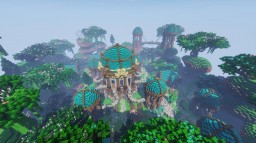 -=Blue Fortress=- KitPvp/Spawn Map Minecraft Map & Project