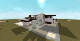 Creative Craft's How To Build A Large Modern House #1 by DreamBliss Minecraft Map & Project