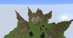 Floating Islands / first voxel build Minecraft Map & Project
