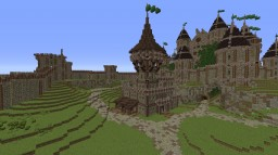 Medieval Jail/castle + Download Minecraft Map & Project