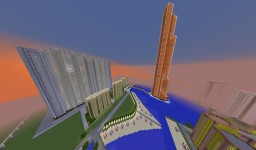 Huge Russian city with Moscow buildings Minecraft Map & Project