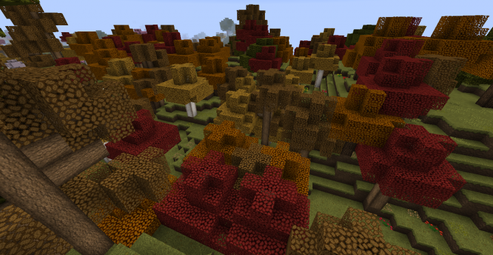 Popular Texture Pack : OzoCraft Biomes