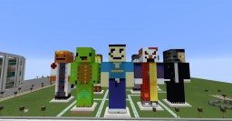 Server Staff In Blockton Coty Minecraft Map & Project