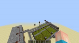 Redstone City - Main Control Tower And More Minecraft Map & Project