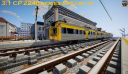 CP 2240 series EMU Minecraft Map & Project
