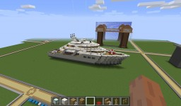 "Yacht- ""Sunset Aquarius"" Minecraft"