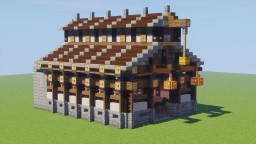 Horse Stable Minecraft