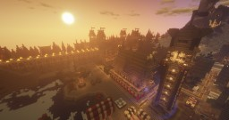 Danheim - the city of stone and home of the viking horde Minecraft Map & Project