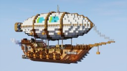 Passenger Airship Minecraft Map & Project
