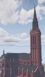 Pfarr und Wallfahrtskirche St. Anna, Düren, Germany Minecraft