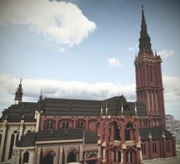 Pfarr und Wallfahrtskirche St. Anna, Düren, North Rhine Westphalia, Germany Minecraft Map & Project