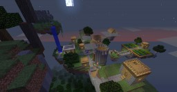 Floating NPC village (fully functional) Minecraft Map & Project