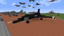 MiG-28 (Top Gun) Minecraft Map & Project