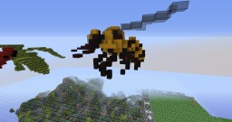Bee organic Minecraft Map & Project