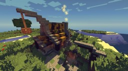 Medieval Miner House #5 Minecraft Map & Project