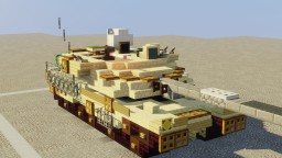 M-16 Bulwark (Fictional Battle Tank) Minecraft Map & Project