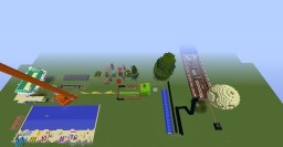 How to Roller Coaster Minecraft Map & Project