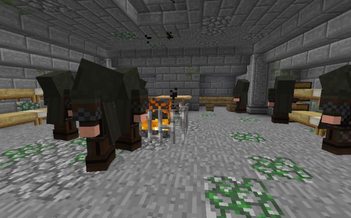 My Dunedain Rangers in a secret bunker