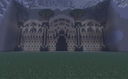 Rosgiliath, a Dwarven/Elven City Minecraft Map & Project