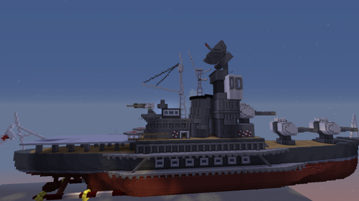 Side View of the cruiser