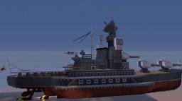 Mogami Class Converted Cruiser Minecraft