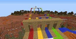 Four Colours Parkour Minecraft Map & Project