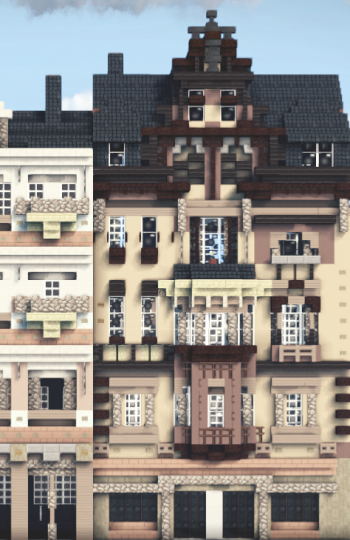 Haus Plockstrasse 7 Giessen Germany Minecraft Project