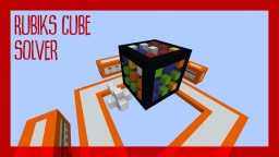 Rubiks cube solver in Minecraft | by Skyball Minecraft
