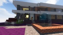 mushroom lsland morden house Minecraft Map & Project
