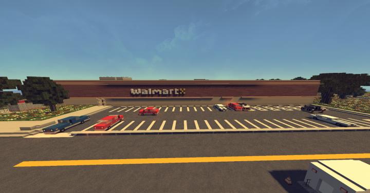 Staff parking lot.