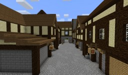 Medieval City Build Minecraft Map & Project