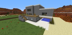 the cool modern house Minecraft Map & Project