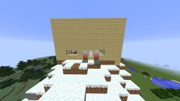 Japanese Private Cliff House Minecraft Map & Project